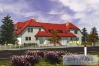 Проект двухквартирного дома № 25