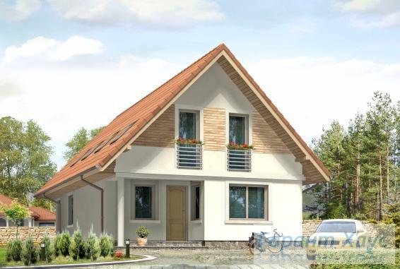 Проект одноквартирного дома № 165