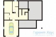 78-proekt.ru - Проект Двухквартирного Дома №22.  План Подвала