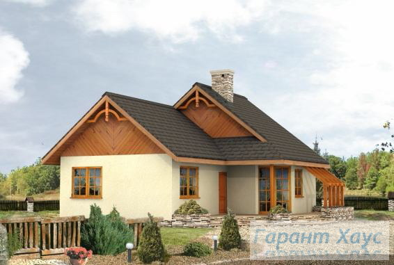 Проект одноквартирного дома № 282