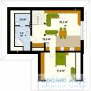 78-proekt.ru - Проект Дачного Дома №15.  План Второго Этажа