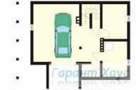 78-proekt.ru - Проект Одноквартирного Дома №291.  План Подвала