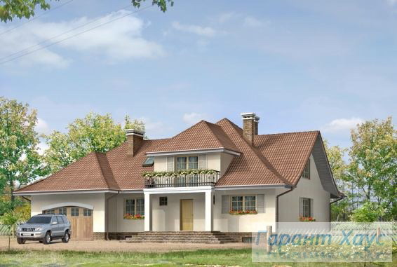 Проект одноквартирного дома № 5