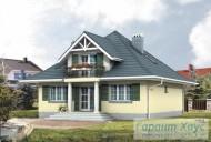 78-proekt.ru - Проект Одноквартирного Дома №69.  Вид №2