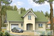 78-proekt.ru - Проект Одноквартирного Дома №225.  Вид №1