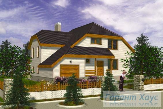 Проект одноквартирного дома № 305