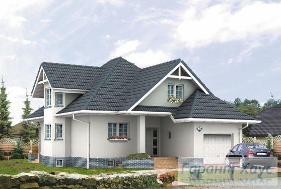 Проект одноквартирного дома № 107