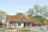 78-proekt.ru - Проект Одноквартирного Дома №311.  Вид №1