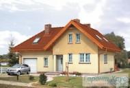 78-proekt.ru - Проект Одноквартирного Дома №134.  Вид №1