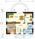 78-proekt.ru - Проект Одноквартирного Дома №94.  План Первого Этажа