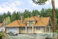 78-proekt.ru - Проект Одноквартирного Дома №3.  Вид №1