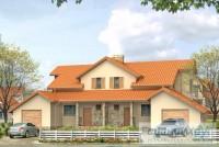 Проект двухквартирного дома № 7