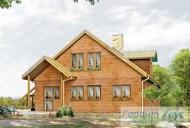 78-proekt.ru - Проект Одноквартирного Дома №272.  Вид №2