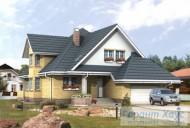 78-proekt.ru - Проект Одноквартирного Дома №253.  Вид №1