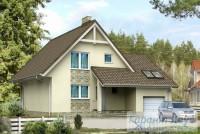 Проект одноквартирного дома № 267