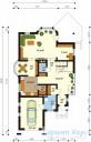 78-proekt.ru - Проект Одноквартирного Дома №113.  План Первого Этажа