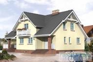 78-proekt.ru - Проект Одноквартирного Дома №188.  Вид №1