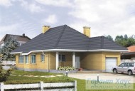 78-proekt.ru - Проект Одноквартирного Дома №180.  Вид №1