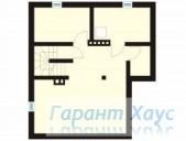 78-proekt.ru - Проект Одноквартирного Дома №292.  План Подвала