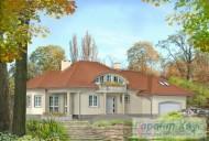 78-proekt.ru - Проект Одноквартирного Дома №15.  Вид №1