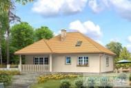 78-proekt.ru - Проект Одноквартирного Дома №232.  Вид №2