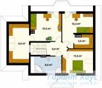 78-proekt.ru - Проект Одноквартирного Дома №93.  План Второго Этажа