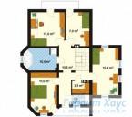 78-proekt.ru - Проект Одноквартирного Дома №86.  План Второго Этажа