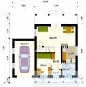 78-proekt.ru - Проект Одноквартирного Дома №195.  План Первого Этажа