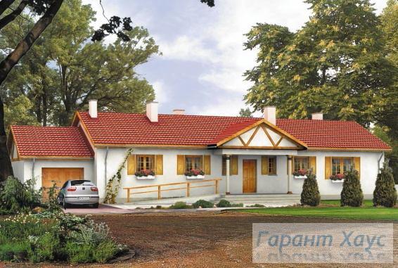 Проект одноквартирного дома № 247