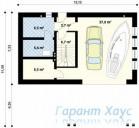 78-proekt.ru - Проект Дачного Дома №10.  План Первого Этажа