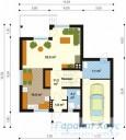 78-proekt.ru - Проект Одноквартирного Дома №271.  План Первого Этажа
