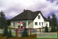78-proekt.ru - Проект Одноквартирного Дома №316.  Вид №2