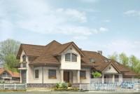 Проект двухквартирного дома № 3
