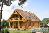 78-proekt.ru - Проект Одноквартирного Дома №153.  Вид №2