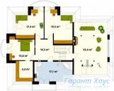 78-proekt.ru - Проект Одноквартирного Дома №39.  План Второго Этажа