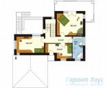 78-proekt.ru - Проект Одноквартирного Дома №21.  План Второго Этажа