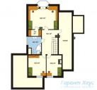 78-proekt.ru - Проект Одноквартирного Дома №216.  План Второго Этажа