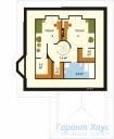 78-proekt.ru - Проект Одноквартирного Дома №52.  План Второго Этажа