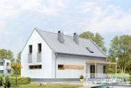 78-proekt.ru - Проект Одноквартирного Дома №175.  Вид №2