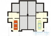 78-proekt.ru - Проект Двухквартирного Дома №26.  План Подвала