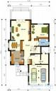 78-proekt.ru - Проект Одноквартирного Дома №265.  План Первого Этажа