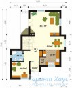 78-proekt.ru - Проект Одноквартирного Дома №159.  План Первого Этажа
