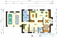 78-proekt.ru - Проект Одноквартирного Дома №40.  План Первого Этажа