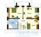 78-proekt.ru - Проект Одноквартирного Дома №94.  План Второго Этажа