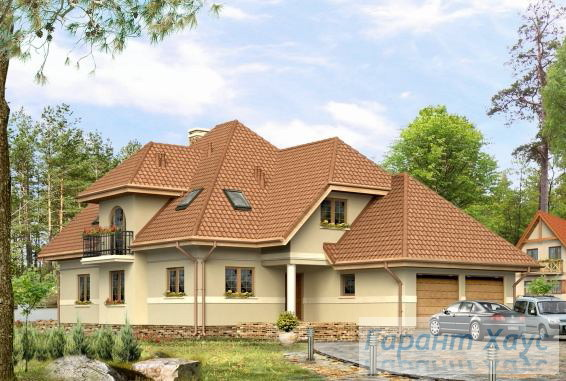 Проект одноквартирного дома № 61