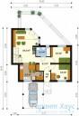78-proekt.ru - Проект Одноквартирного Дома №261.  План Первого Этажа