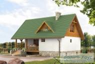78-proekt.ru - Проект Одноквартирного Дома №291.  Вид №2