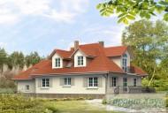 78-proekt.ru - Проект Одноквартирного Дома №322.  Вид №2