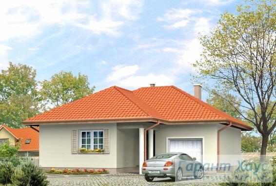 Проект одноквартирного дома № 250