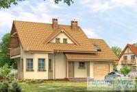 Проект одноквартирного дома № 184